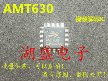 20 pcs AMT630 video dekoder IC QFP yeni 3958