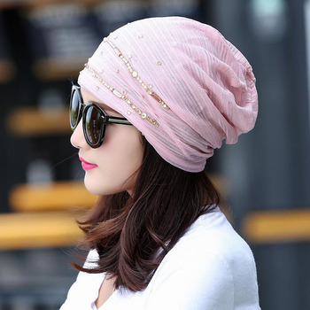 2017 New Women Fashion Hat Autumn Casual Female Caps Beanie Knit Winter Hats Girls Cap Lace Skullies Gorro Bonnet 844